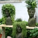 флористическое оформление сада